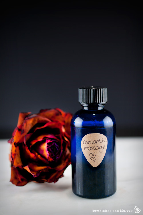 How to make romantic massage oil.