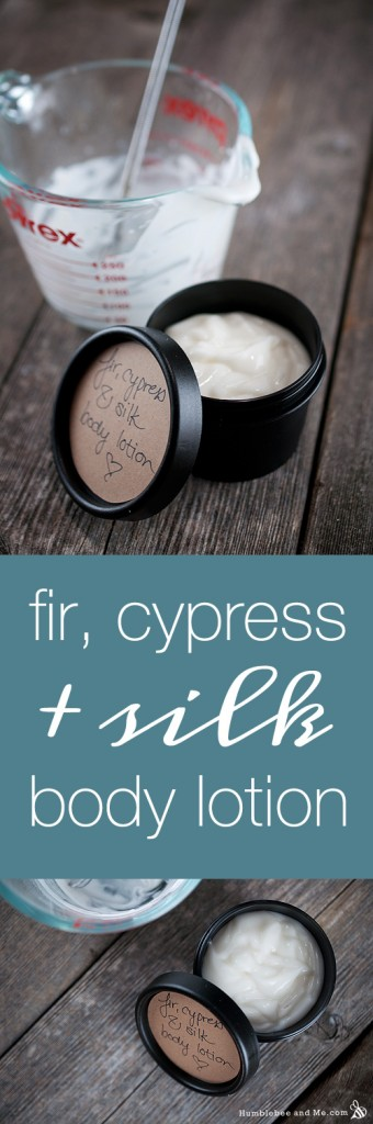 Fir, Cypress, and Silk Body Lotion