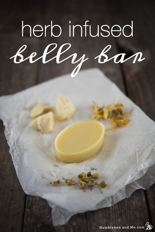 How to Make a Herb Infused Belly Bar