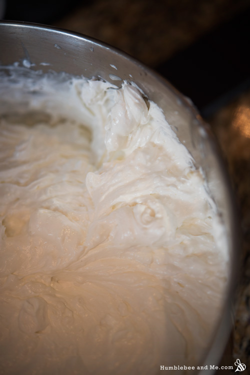 All creamed up! Looks like a lovely whipped body butter, no?