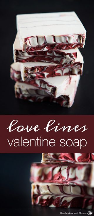 Love Lines Valentine Soap