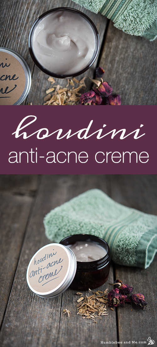 How to Make Houdini Anti Acne Creme