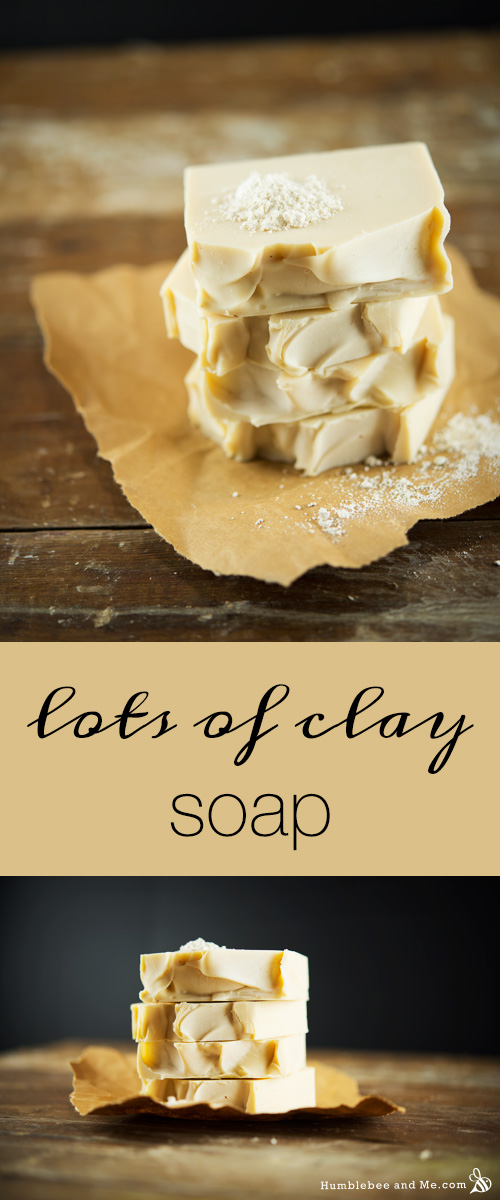 How to make Lots & Lots of Clay Soap