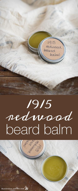 Как сделать бальзам для бороды из красного дерева 1915 года