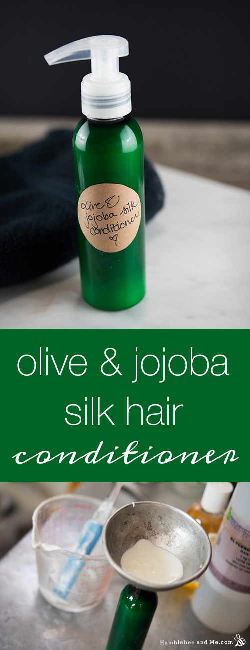 How to make Olive and Jojoba Silk Conditioner