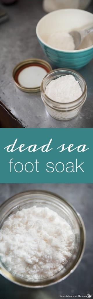 Dead Sea Foot Soak