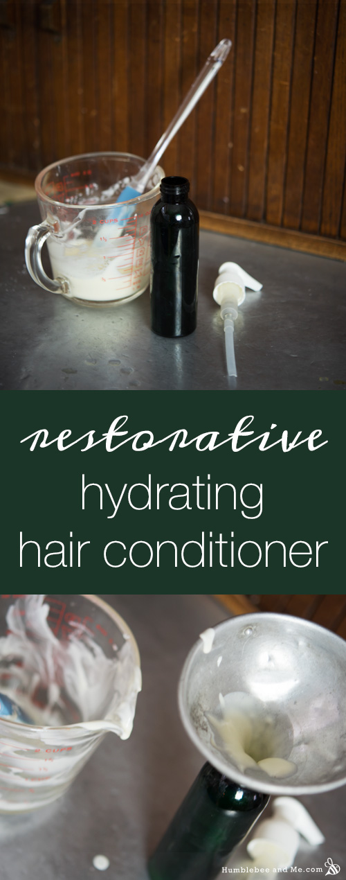 How to make a Restorative Hydrating Hair Conditioner