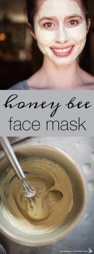 Honey Bee Face Mask