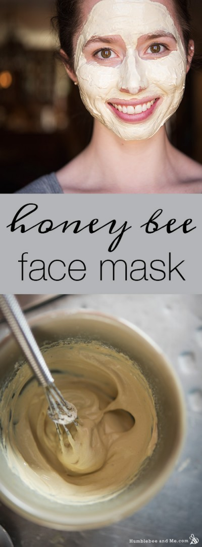 Honey Bee Face Mask