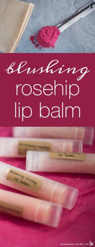 Blushing Rosehip Lip Balm