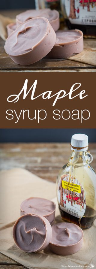 Maple Syrup Soap
