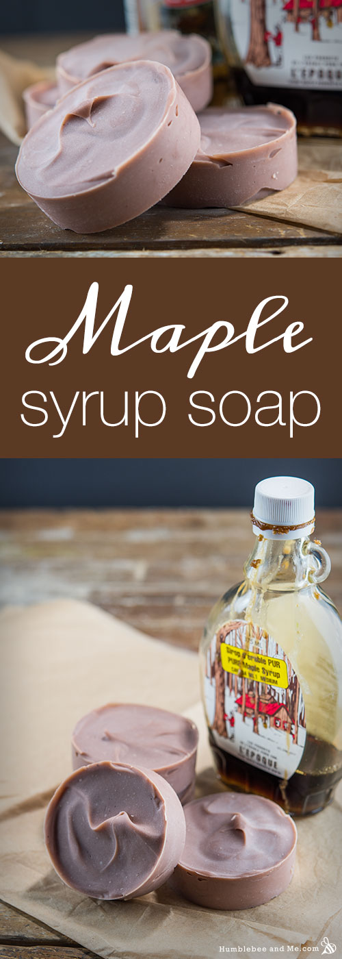How to make Maple Syrup Soap