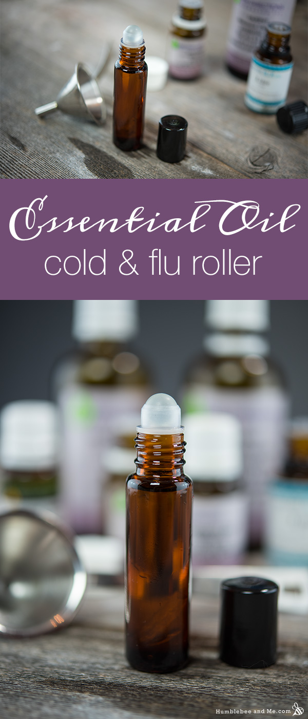 Essential Oil Cold And Flu Roller Humblebee Me