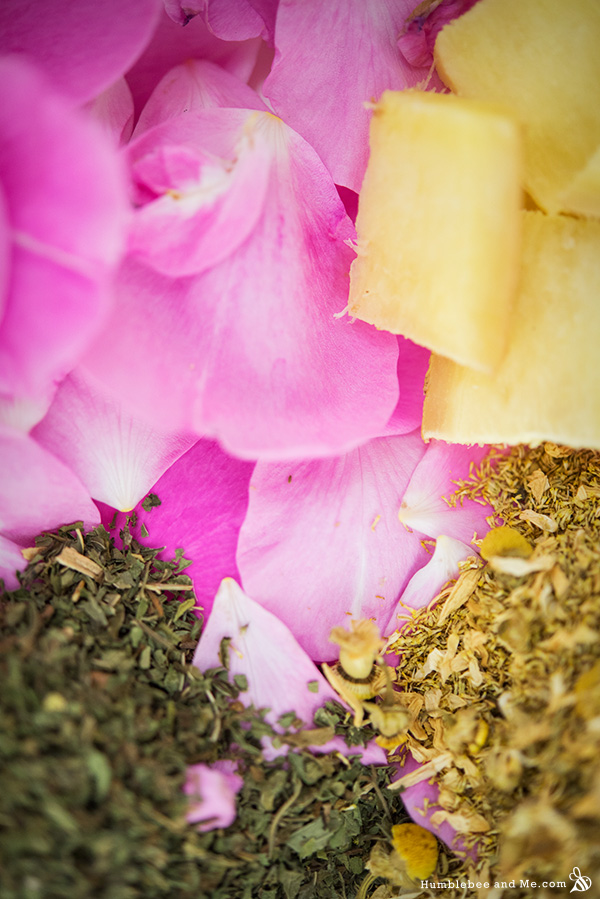 How to Make a Calming Rose and Chamomile Facial Steam