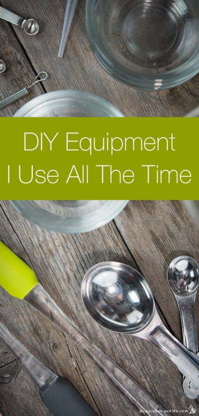 DIY Equipment I Use All The Time