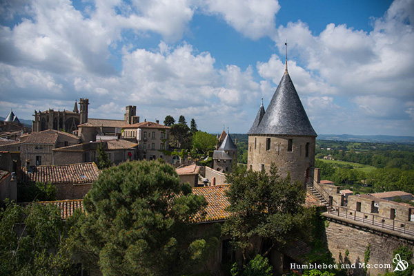 Shortly after arriving in Montpellier, we hopped on a train to Carcassonne; an incredible medieval citadel. I felt like a time traveller.