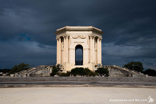 A storm rolls into Montpellier. The baking there was absolutely incredible, and I think the highlight of my time there was a picnic in the botanical gardens with wine, a baguette, good cheese, and wonderful company.