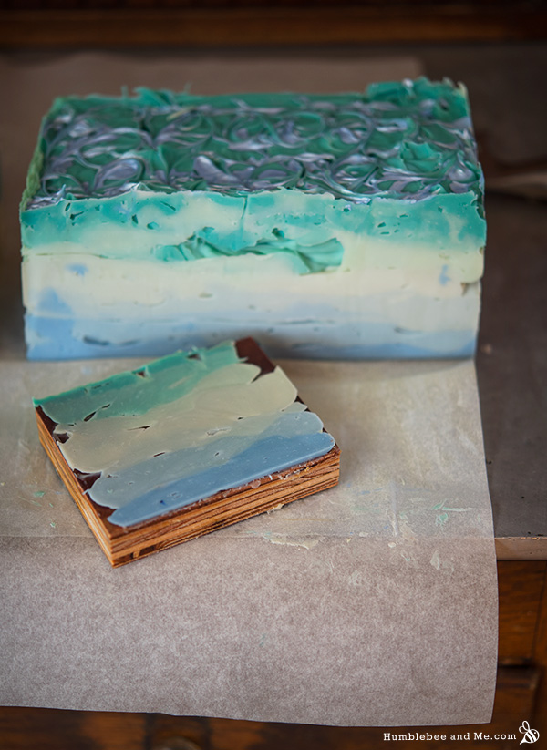 How to make Mermaid Silk Shampoo Bars