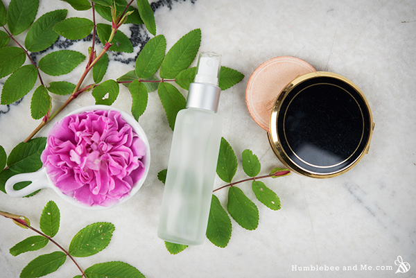 How to Make Hydrating Rose Water Everything Spray