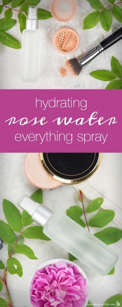 Hydrating Rose Water Everything Spray