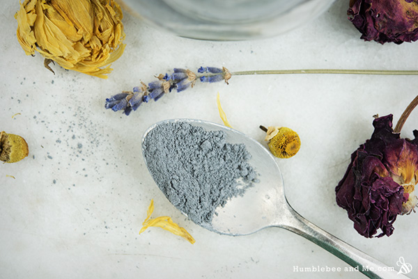 How to make a Twilight Foaming Clay Scrub