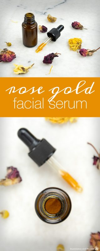 Rose Gold Facial Serum