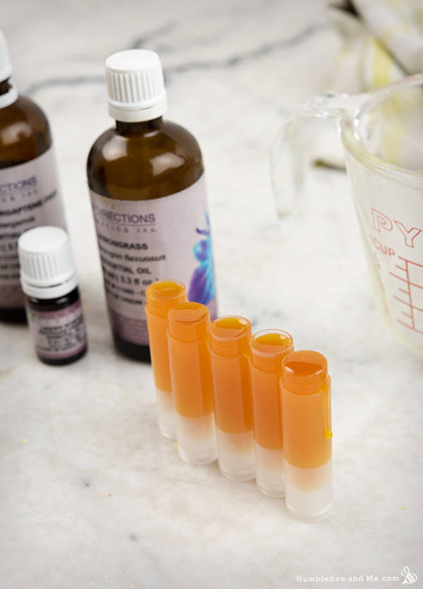 How to Make Vegan Citrus Lip Butter