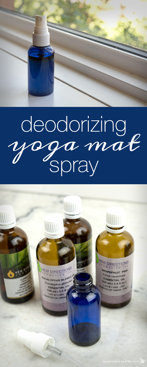 Deodorizing Yoga Mat Spray Humblebee Amp Me