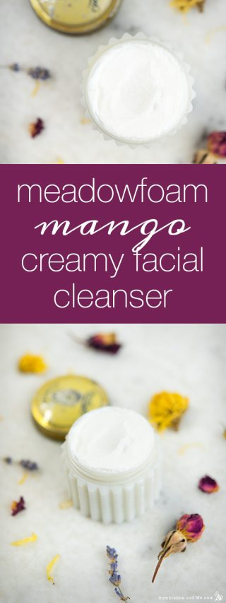 Meadowfoam Mango Creamy Facial Cleanser