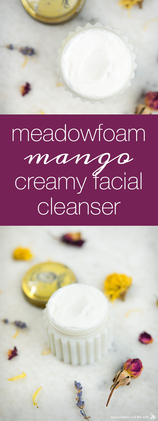 How to make Meadowfoam Mango Creamy Facial Cleanser