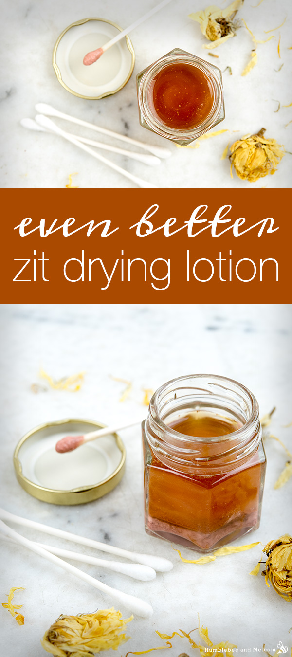 How to make even better zit drying lotion
