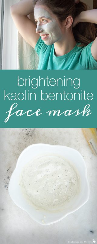 Brightening Kaolin Bentonite Face Mask