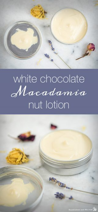White Chocolate Macadamia Nut Lotion