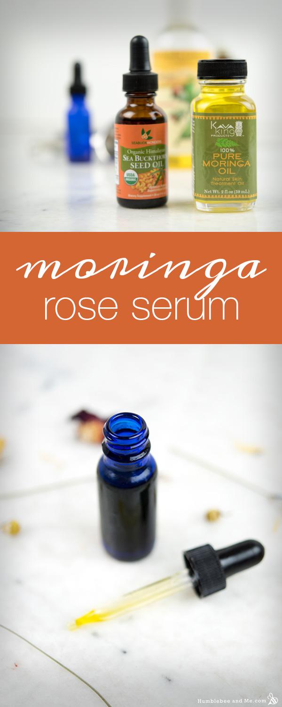 How to Make Moringa Rose Serum