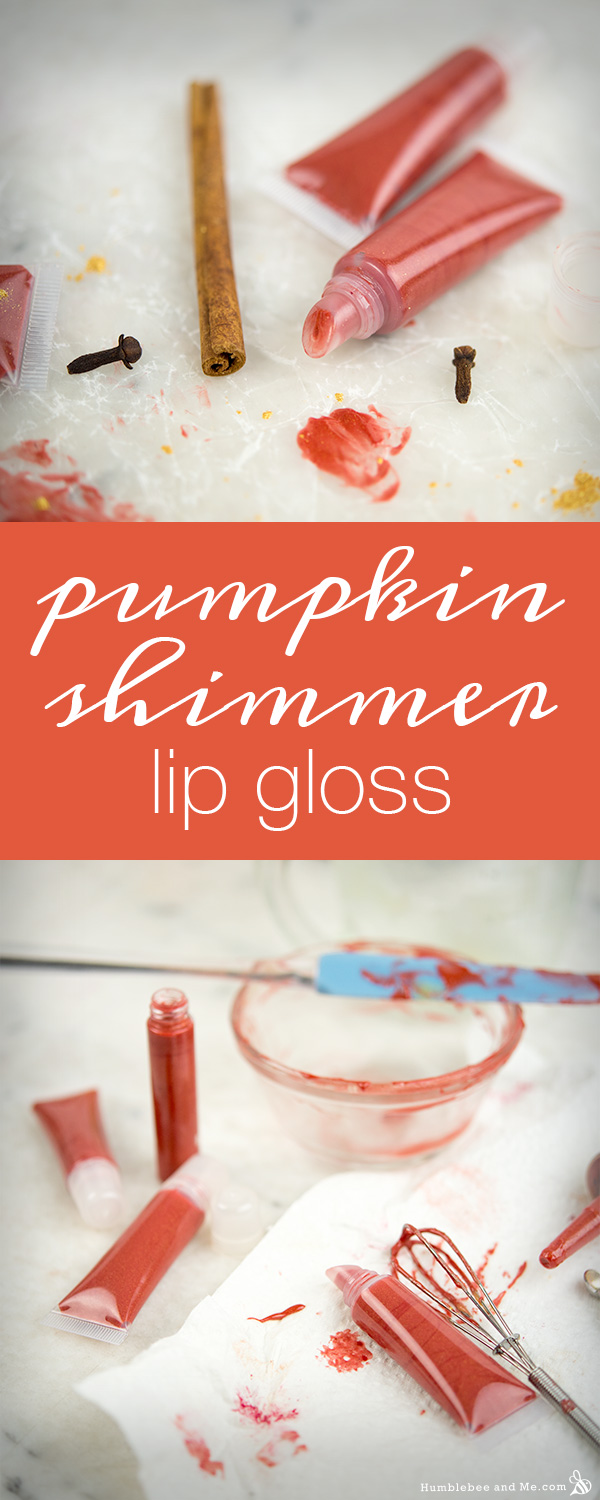 How to Make Pumpkin Shimmer Lip Gloss