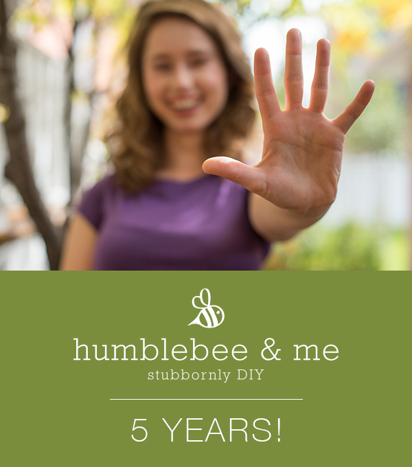 Humblebee & Me is 5!
