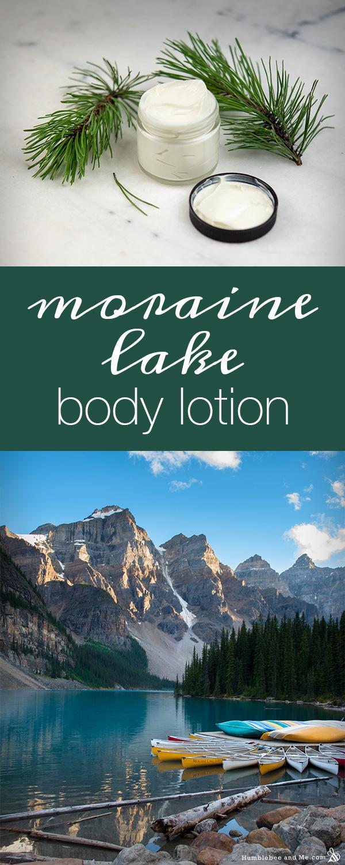 Как приготовить лосьон для тела с моренным озером