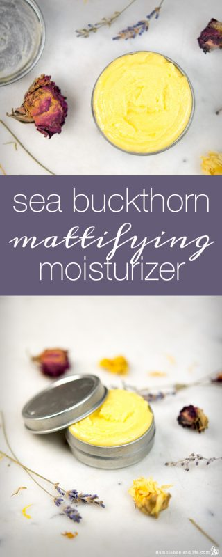 Sea Buckthorn Mattifying Moisturizer