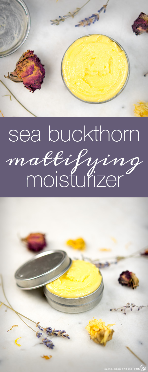How to make Sea Buckthorn Mattifying Moisturizer