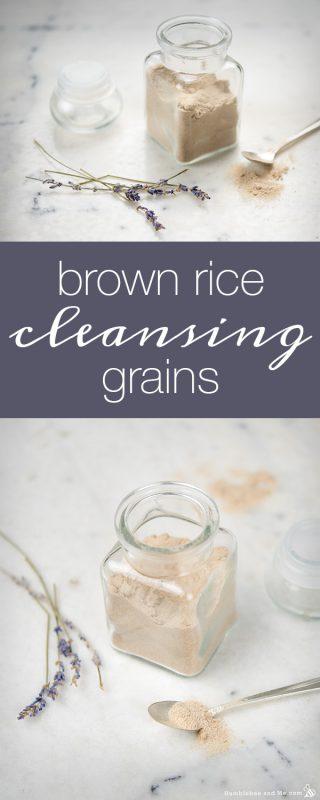 Brown Rice Cleansing Grains