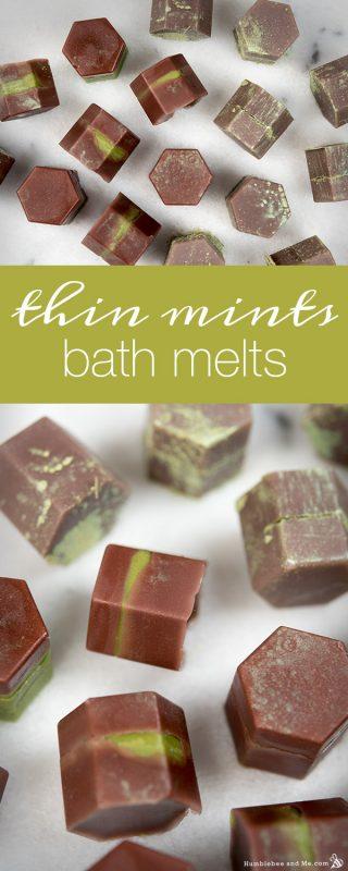 Thin Mints Bath Melts