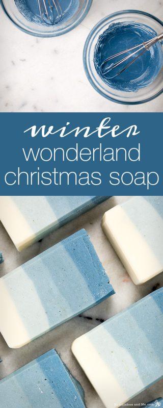 Winter Wonderland Christmas Soap