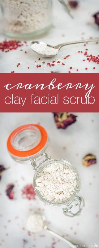 Cranberry Clay Facial Scrub