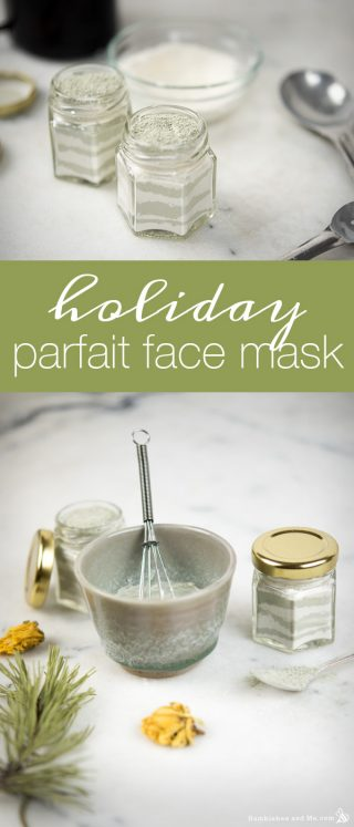 Holiday Parfait Face Mask