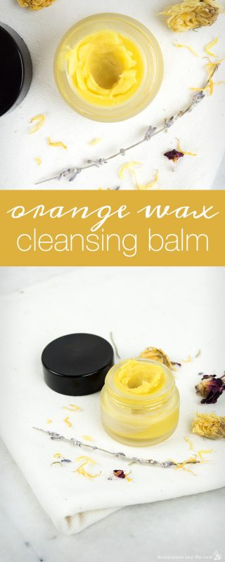 Orange Wax Cleansing Balm