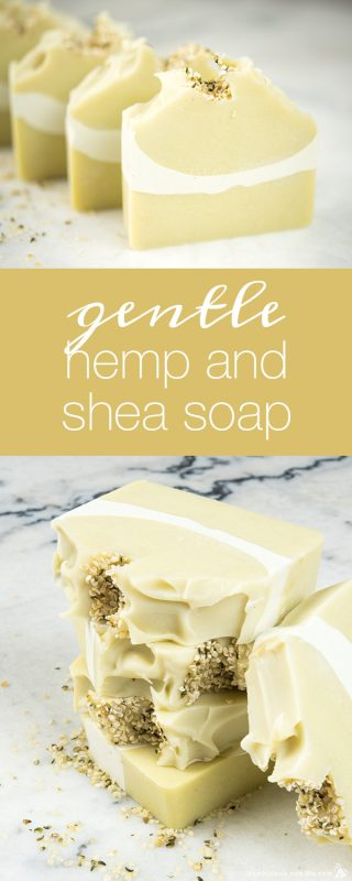 Gentle Hemp and Shea Soap