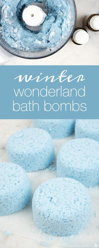 Winter Wonderland Bath Bombs
