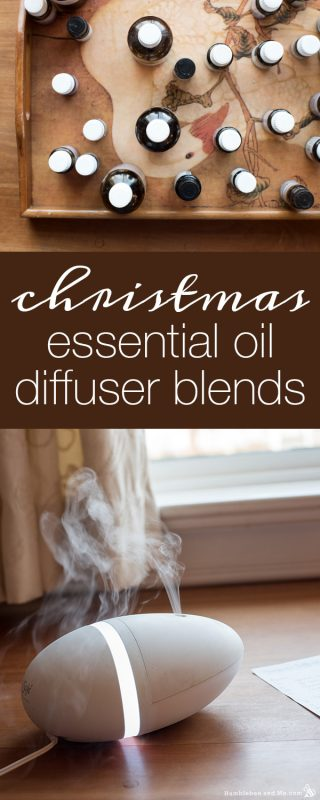 Christmas Essential Oil Diffuser Blends