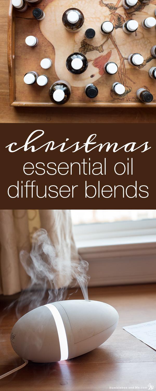 Рождественские смеси диффузора эфирного масла