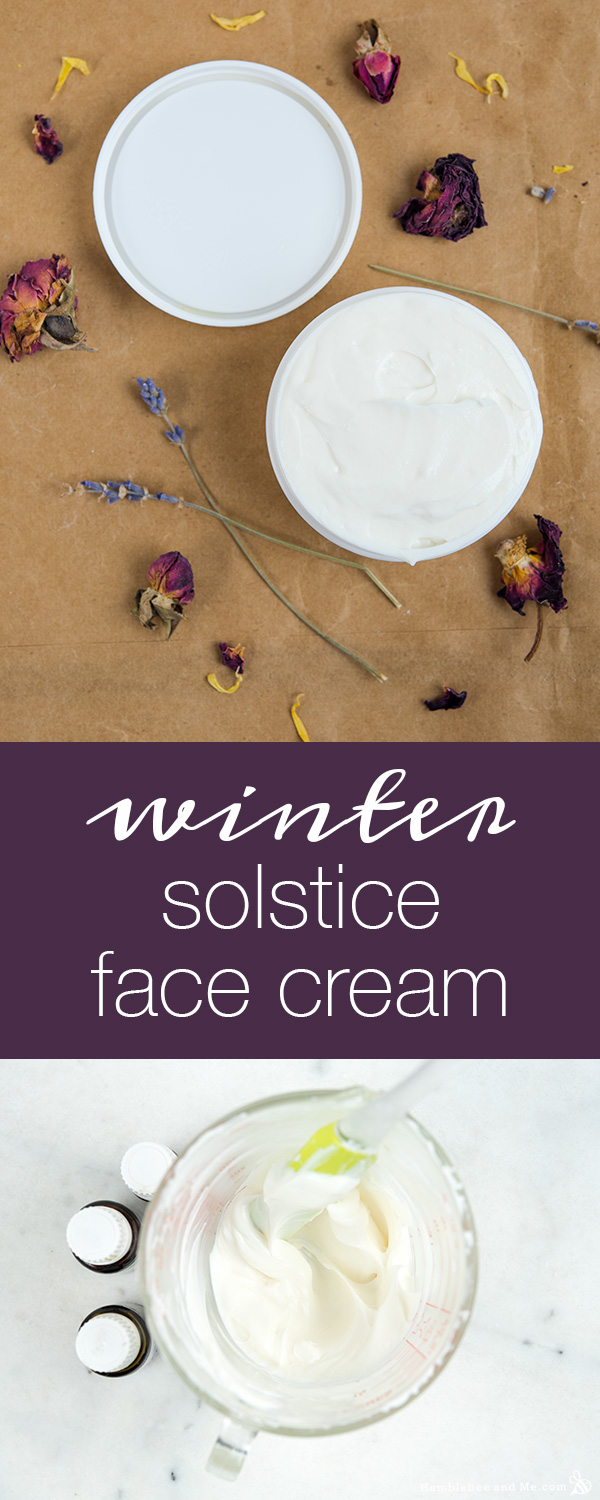 How to Make Winter Solstice Face Cream